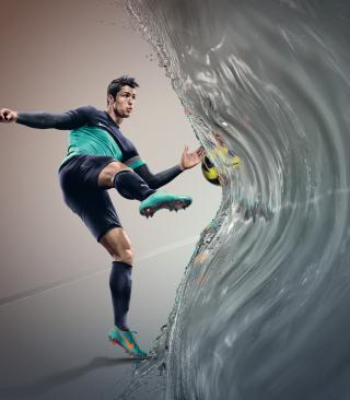 Cristiano Ronaldo, Real Madrid - Obrázkek zdarma pro Nokia X1-01