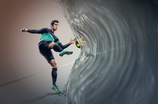 Cristiano Ronaldo, Real Madrid - Obrázkek zdarma pro Sony Xperia Z3 Compact