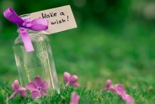 Make A Wish - Obrázkek zdarma pro Nokia XL