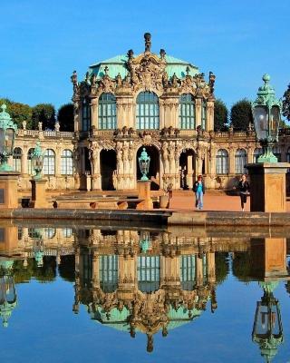 Dresden Zwinger Palace - Obrázkek zdarma pro 240x432