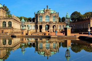 Dresden Zwinger Palace Wallpaper for Android, iPhone and iPad