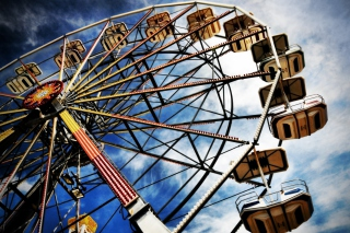Free Ferris Wheel Picture for Android, iPhone and iPad
