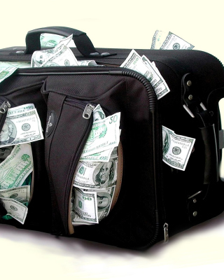 Case with Dollars - Obrázkek zdarma pro Nokia Asha 310