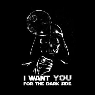 Darth Vader's Dark Side - Obrázkek zdarma pro iPad mini