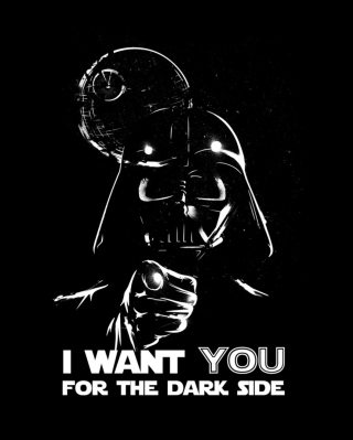 Darth Vader's Dark Side - Obrázkek zdarma pro 768x1280