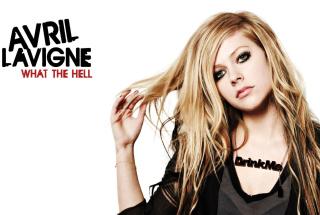 Avril Lavigne - Obrázkek zdarma pro LG Optimus M