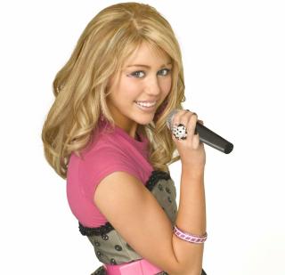 Miley Cyrus in Hannah Montana - Obrázkek zdarma pro iPad Air