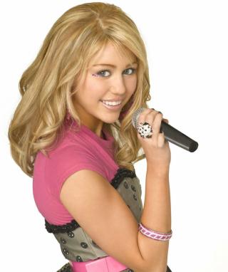 Miley Cyrus in Hannah Montana - Obrázkek zdarma pro iPhone 5