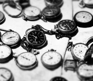 Vintage Pocket Watches - Obrázkek zdarma pro 128x128