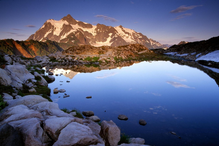 Mount Shuksan at Sunset - Washington wallpaper