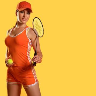 Female Tennis Player - Obrázkek zdarma pro iPad