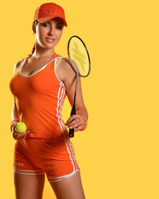 Female Tennis Player - Obrázkek zdarma pro 128x160