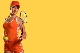 Female Tennis Player - Obrázkek zdarma pro Samsung Galaxy Tab S 8.4