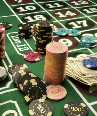 Roulette Casino - Obrázkek zdarma pro 128x160