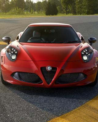 Alfa Romeo 4C Front View - Obrázkek zdarma pro 360x400