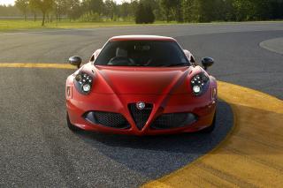 Alfa Romeo 4C Front View - Obrázkek zdarma pro 1200x1024