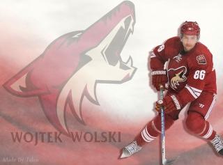 Картинка Wojtek Wolski Phoenix Coyotes на андроид