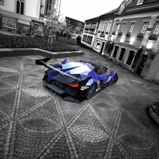 GT by Citroen Race Car - Obrázkek zdarma pro iPad
