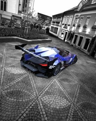 GT by Citroen Race Car - Obrázkek zdarma pro 360x480