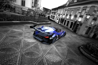Free GT by Citroen Race Car Picture for Android, iPhone and iPad