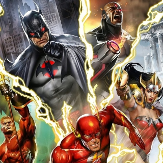 Justice League: The Flashpoint Paradox - Obrázkek zdarma pro 1024x1024