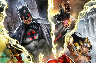 Justice League: The Flashpoint Paradox Background for Android, iPhone and iPad