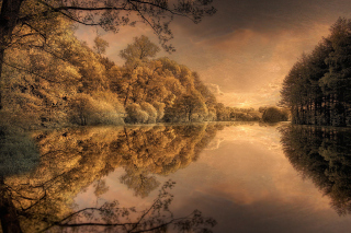 Free Autumn in Scandinavia Picture for Android, iPhone and iPad