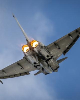 Typhoon Aircraft - Obrázkek zdarma pro 128x160