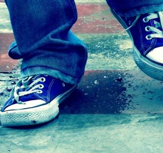 Blue Shoes - Obrázkek zdarma pro 208x208