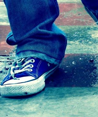 Blue Shoes - Obrázkek zdarma pro iPhone 6