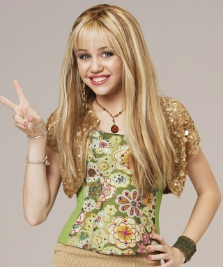 Miley Cyrus - Obrázkek zdarma pro iPhone 4