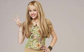 Miley Cyrus - Obrázkek zdarma pro 480x320