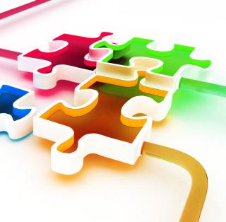 Puzzle - Obrázkek zdarma pro iPad