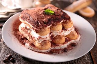 Tiramisu Tasty Cake - Obrázkek zdarma pro Android 1080x960