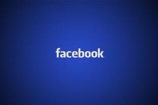 Facebook Logo - Obrázkek zdarma pro Widescreen Desktop PC 1680x1050