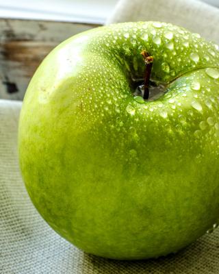 Green Apple - Obrázkek zdarma pro Nokia C7