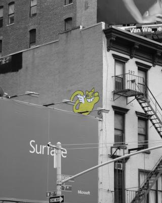 New York Street Art - Fondos de pantalla gratis para Huawei G7300