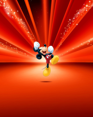 Mickey Mouse Disney Red Wallpaper - Obrázkek zdarma pro Nokia Lumia 625