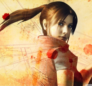 Resident Evil Claire Redfield - Obrázkek zdarma pro 320x320