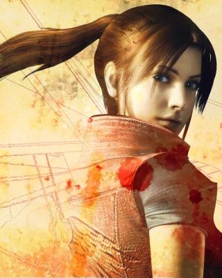 Resident Evil Claire Redfield - Obrázkek zdarma pro 480x640
