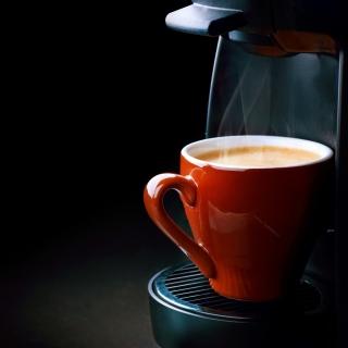 Espresso from Coffee Machine - Obrázkek zdarma pro iPad