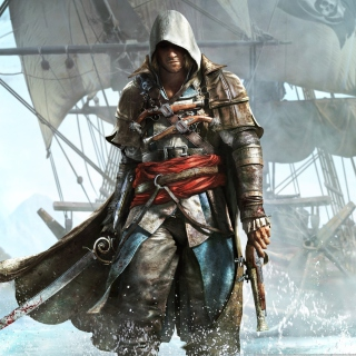 Blackangel - Assassin's Creed - Obrázkek zdarma pro 2048x2048