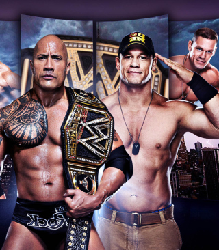 WWE Wrestlemania HD - Obrázkek zdarma pro Nokia C-Series