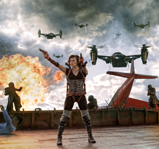 Resident Evil Retribution - Obrázkek zdarma pro iPad mini 2