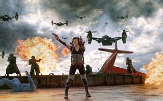 Resident Evil Retribution - Obrázkek zdarma pro Motorola DROID