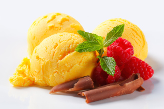Ice cream with strawberry - Obrázkek zdarma pro Widescreen Desktop PC 1280x800