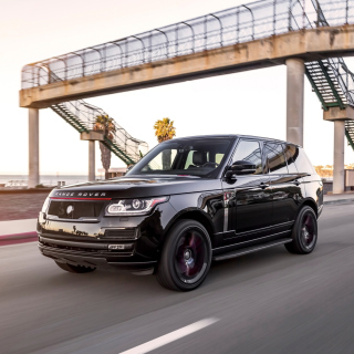 Black Tie STRUT Land Rover Range Rover - Obrázkek zdarma pro 1024x1024