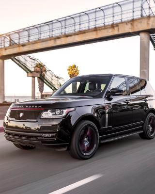 Black Tie STRUT Land Rover Range Rover - Obrázkek zdarma pro iPhone 4