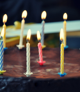 Birthday Cake - Obrázkek zdarma pro 352x416