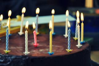 Birthday Cake - Obrázkek zdarma pro Samsung Galaxy Tab S 10.5